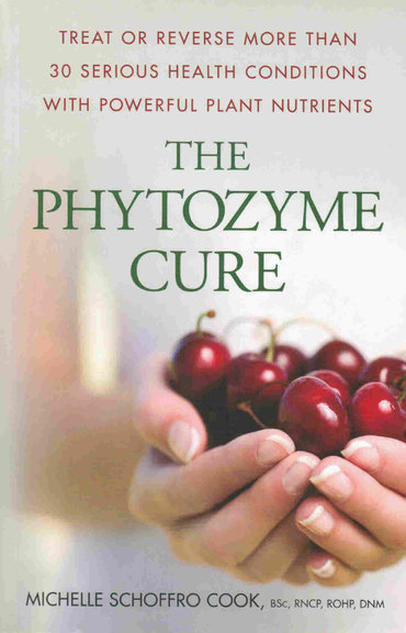 The Phytozyme Cure by Michelle Schoffro Cook, PhD, DNM